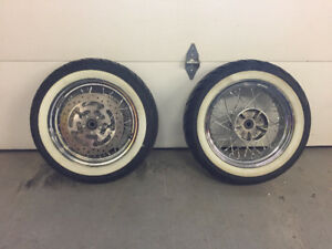 road king spoked wheels 16""