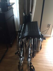 Extra wide wheel chair in excellent shape