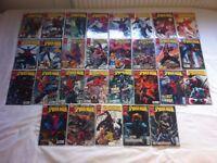 Comic book job lot for sale. Batman, Spider-Man, X-Men, Marvel, DC, Image and more. 267 comics!