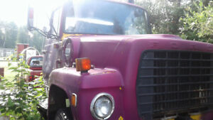 FREE:  Old dump truck for parts or scrap metal