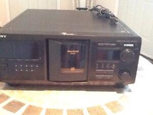CD changer - 400 CD capacity