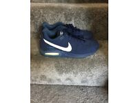 Mens Nike Air Blue Trainers Size 10
