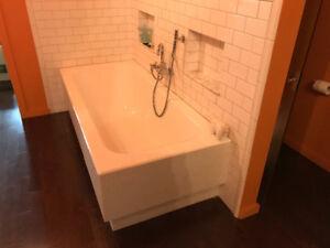 Bathtub and. Shower