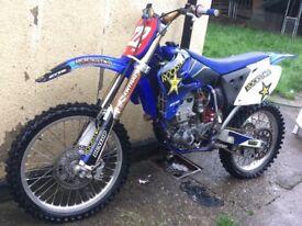 Yz450f 2004