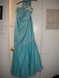 Turquoise Prom/Formal Dress