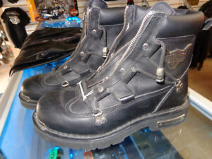 Harley Boots in 10-   recycledgear.ca