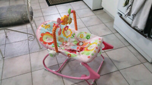 BABY PADDED SLEEPER ROCKER CHAIR
