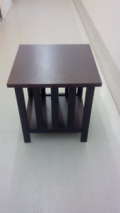 Two Mission Style Side Tables - must go this weekend!