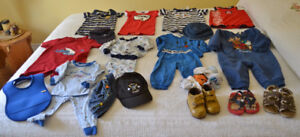 Size 12 month boys, $20.00 lot; $1 -2 per outfit