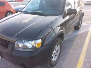 2006 Ford Escape 4×4 certified and etest