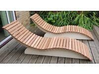 Hardwood Sunlounger - Brand new Handmade