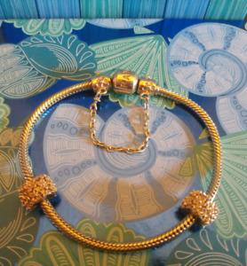 Gold Pandora Bracelet Package