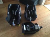 Baby car seats - maxi cosi