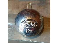 12oz cannonball lead weights for sale