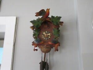 Vintage Cuckoo Clock, Great Condition, Working