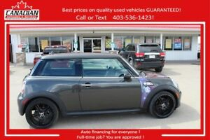 2011 MINI Cooper Hardtop S 6 speed supercharged fun! Financing!