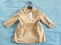Girls coat, BNWT 3-4 years old - F&F