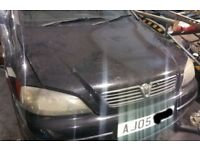Vauxhall Astra Mk4 Bonnet In Black Breaking For Parts (2005)