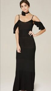 BEBE BLACK DRESS NEW WITH TAGS