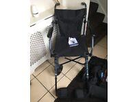 Folding Drive Travelite Wheelchair