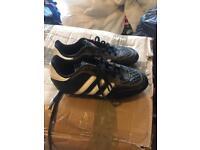 Boys adidas football boots (studs) size 13