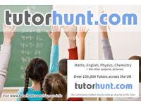 Tutor Hunt Banbury - UK's Largest Tuition Site- Maths,English,Science,Physics,Chemistry,Biology