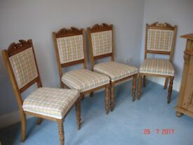 Dining Chairs. Antique.