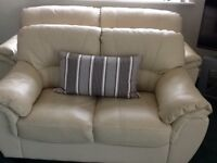 Settees x 2. One 3 seater, one 2 seater