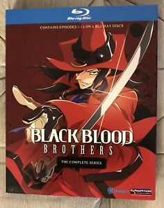 Black Blood Brothers - complete anime tv series blu-ray
