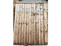 New Wooden gates (pair)