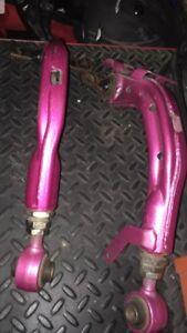 Honda Civic Megan racing camber arms.