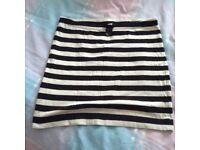 H & m mini skirt xs