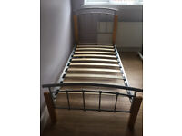 single bed frame ( may deliver locally)