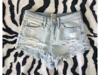 New River Island Shorts Size 6-8