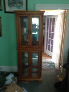 China Hutch with Light