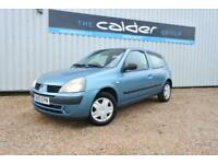 2005 05 RENAULT CLIO 1.1 RUSH AUTHENTIQUE 8V 3D 58 BHP