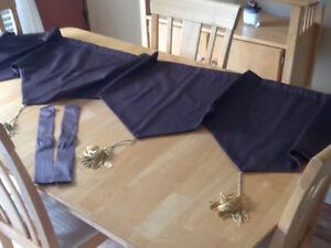 Tête de rideau passe pôle 72 po. Long couleur VERT