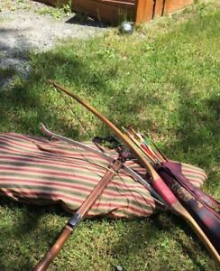Antique Traditional wood crossbow