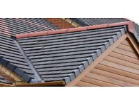 Professional and established roofers for tiled roof and flat roof work