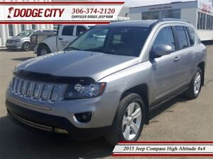 2015 Jeep Compass High Altitude 4x4 **PST PAID**