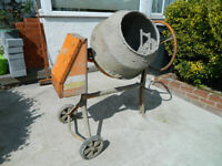 Large Cement Mixer (old war horse)