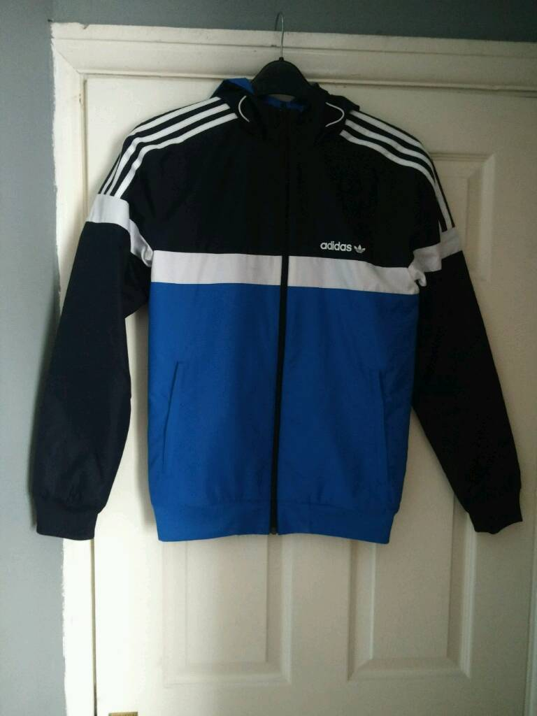 Adidas Originals Itasca Reversible Jacket Xs In Coatbridge