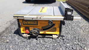 "Dewalt 10"" table saw (DW 745)"