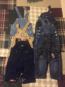 Boys Overalls size 6-12 months