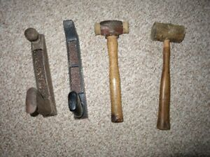 Woodworking carving tools and wood base