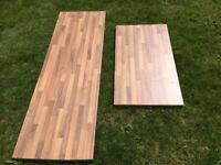 2x Wooden Kitchen Worktops | Never Used | Good Condition