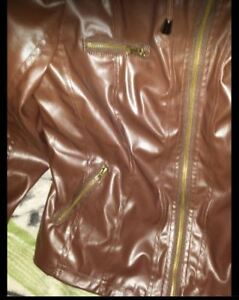 New Chocolate Brown Jacket With Hood