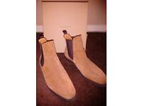 Genuine Meermin Snuff Rapello Suede Boots Size 9