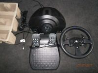 Thrustmaster T300 RS Wheel and Peddles PS3/PS4/PC