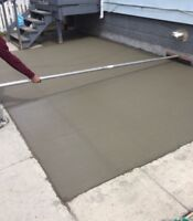 Best Prices on Concrete in the City! Call Us Today!